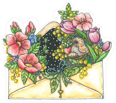 Весна в конверте