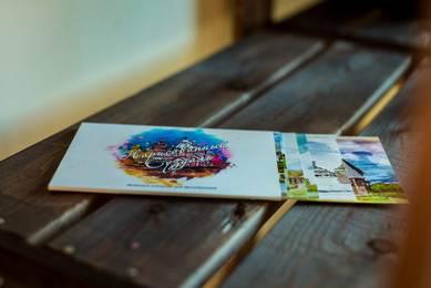 «Нарисованный Суздаль» набор почтовых открыток