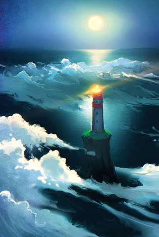 Облачный маяк